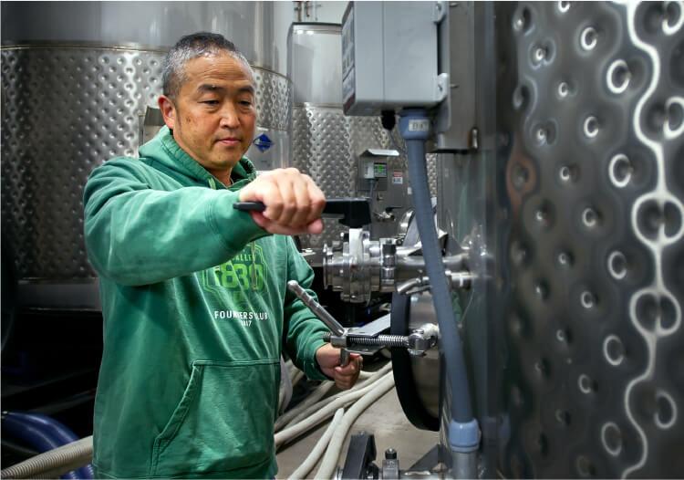 日本人醸造家林泰久