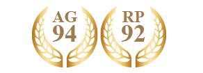 アントニオ・ガローニ94、ロバート・パーカー92受賞
