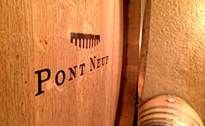 Pont Neuf Winesのワイン樽