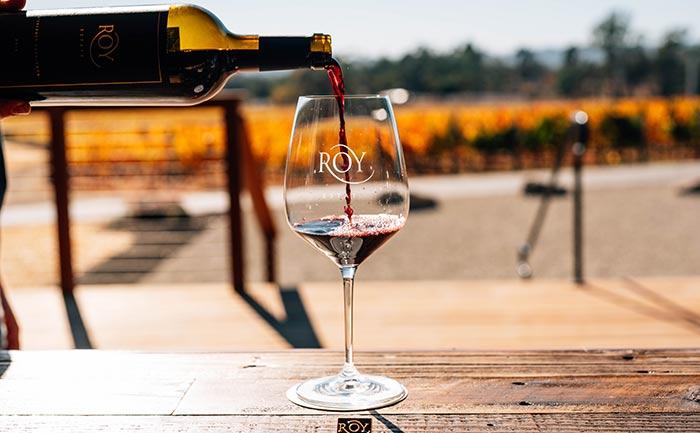 Roy Estateの赤ワイン