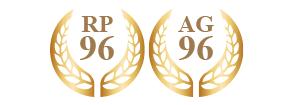 ロバート・パーカー96、アントニオ・ガローニ96受賞