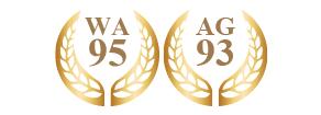 ワイン・アドヴォケイト誌95、アントニオ・ガローニ93受賞